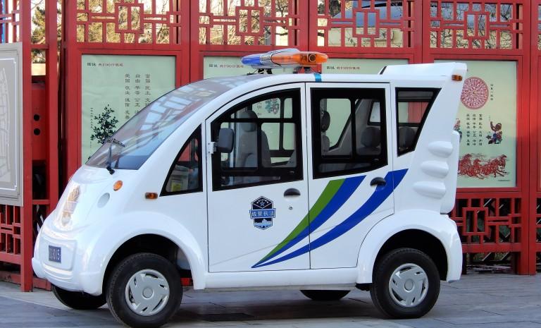beijing - EV police