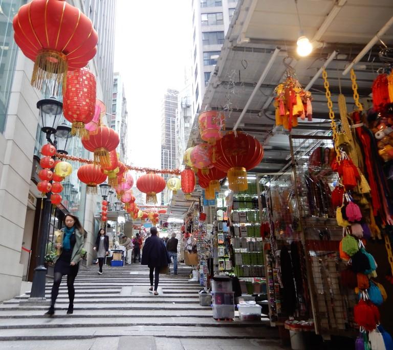 hong kong - narrow streets 2