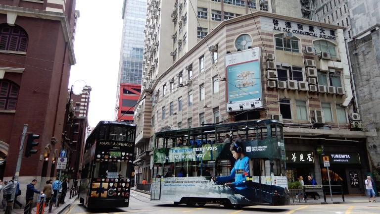 Hong Kong - trams