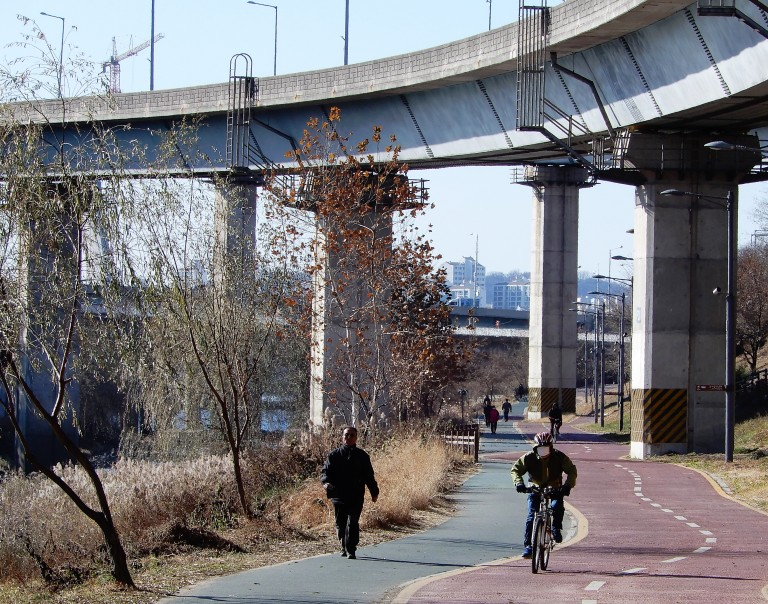 Seoul - biking and walking 2