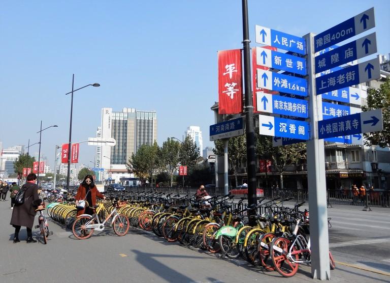 shanghai - bike sharing 2