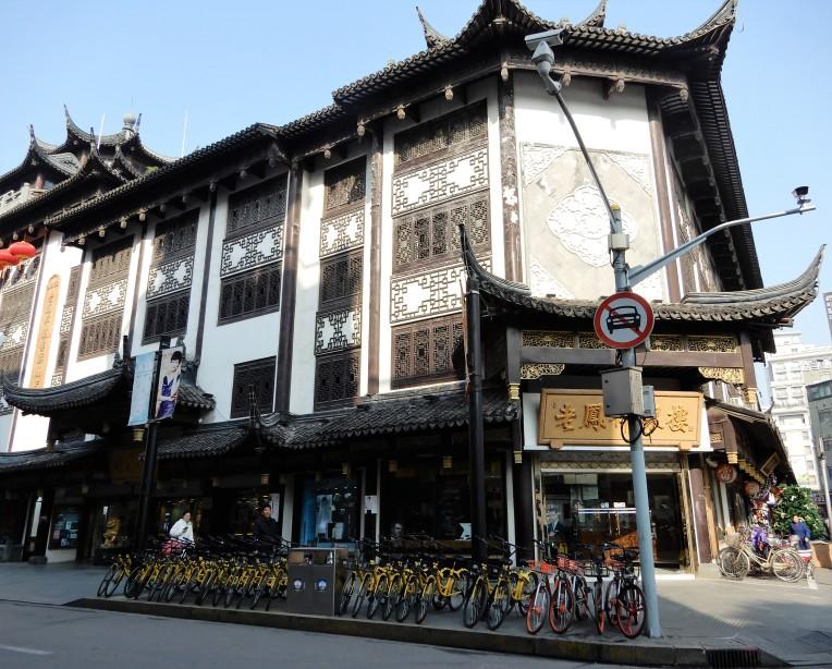 shanghai - bike sharing