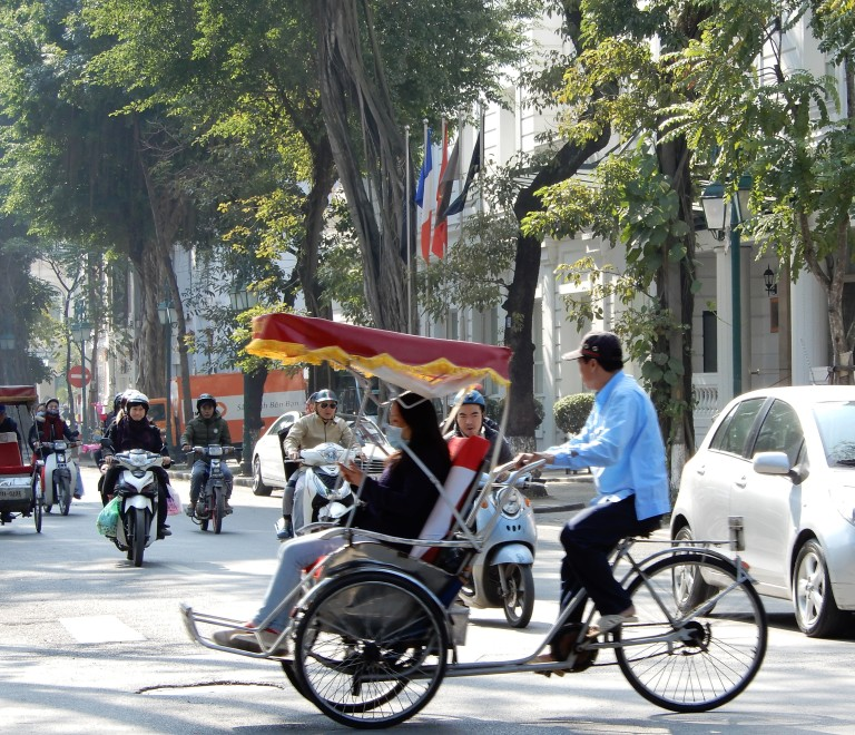 Hanoi - traffic mosaic 2