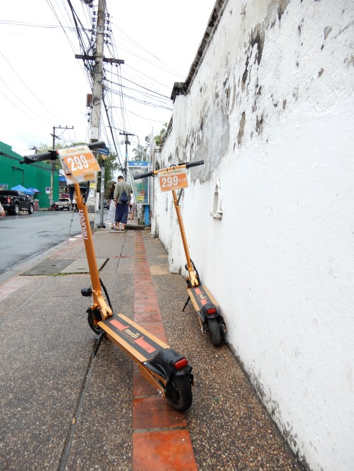Chiang Mai - dockless scooters