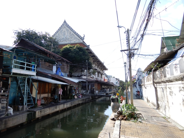 Bangkok - one of the cannels - Venice of the East