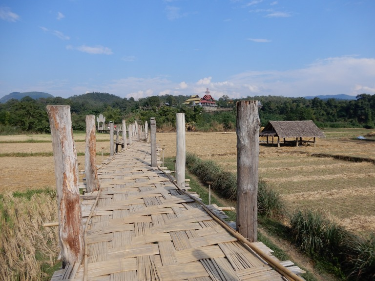 mae hon son - bamboo brige - rice fields 3