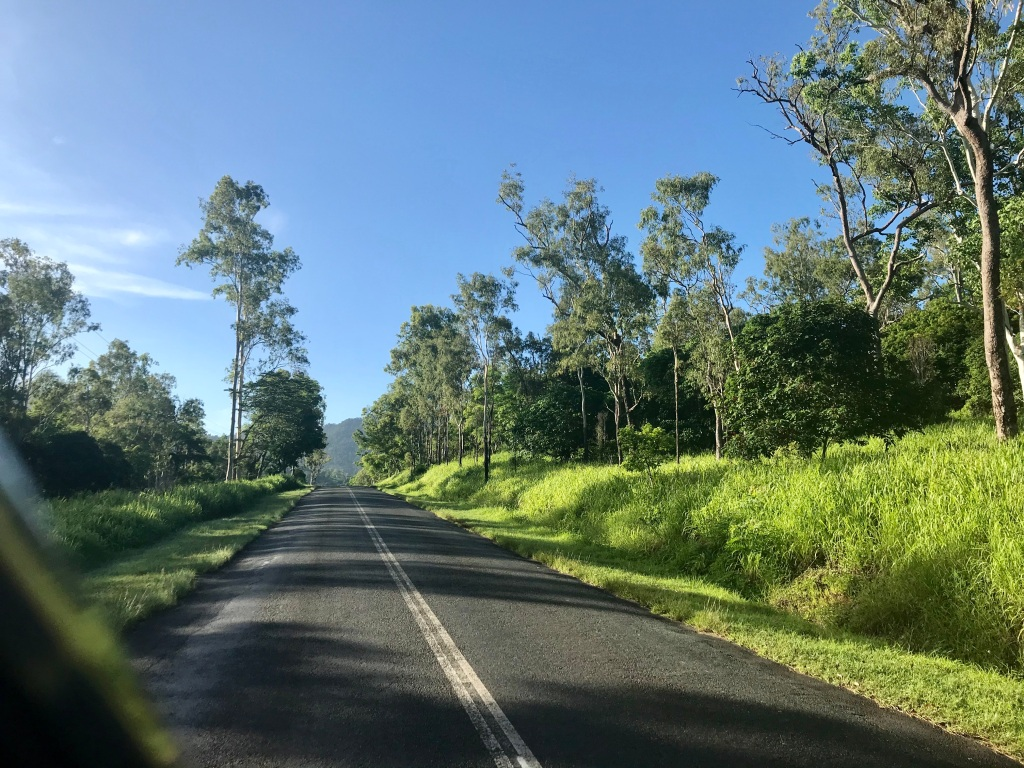 The lush rainforest of the Whitsundays, which I'll leave behind on my Journey.