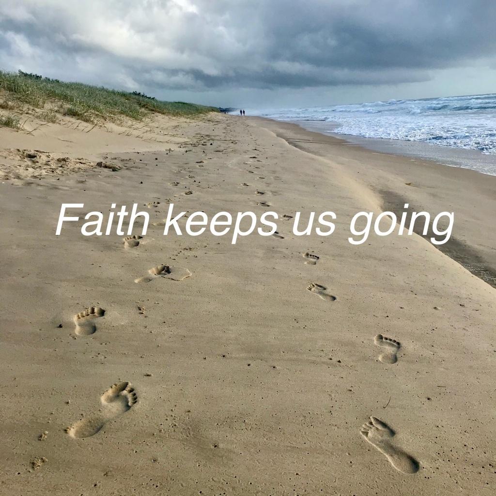 Faith Keeps us Going (c) finfinnews